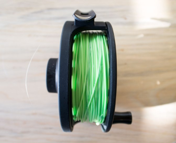Reeling your fly reel