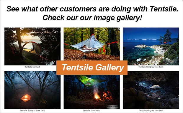 Check out what you can do with your Tentsile Tree Tent in our Tentsile Image Gallery