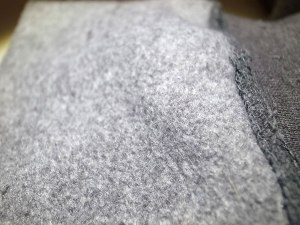 close up of AvidMax fleece hoody