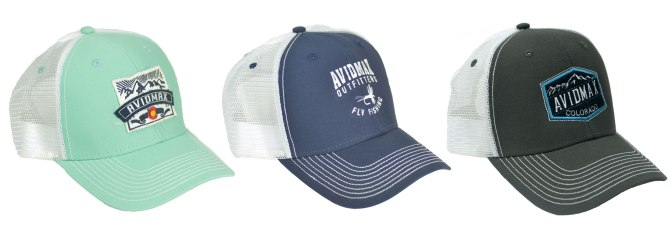AvidMax fly fishing, Colorado cap