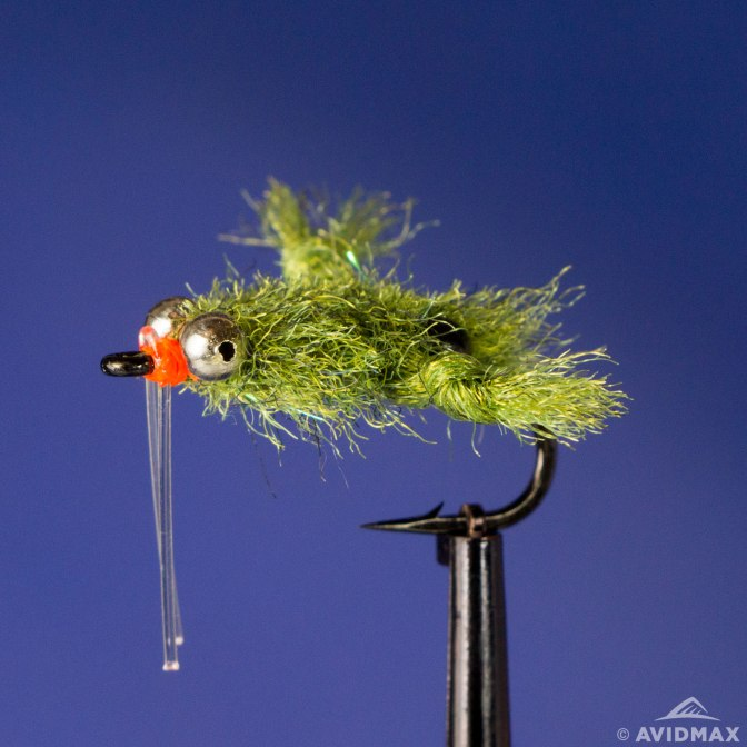 Learn to tie the EP Turneffe Micro Crab fly - video instructions