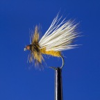 How to Tie an October Caddis Fly: Video