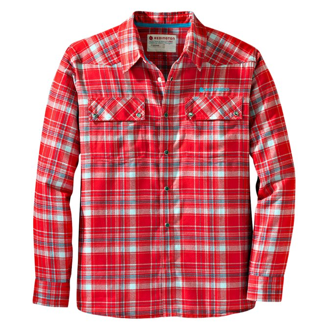 Redington Wayward Flannel Long Sleeve Shirt highlights