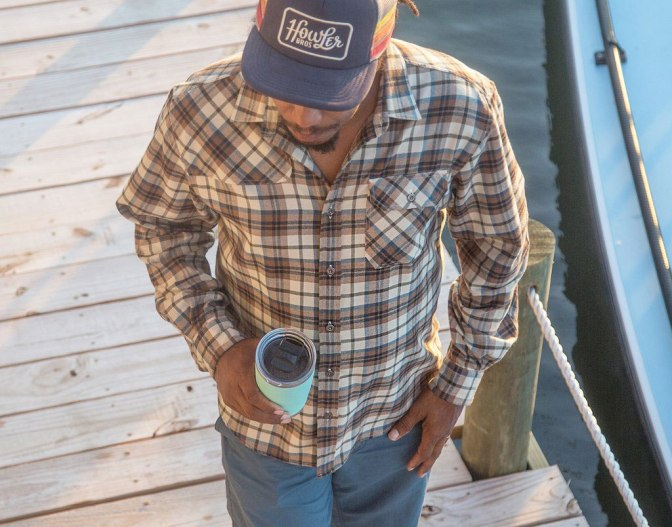 Howler Brothers Harker's Flannel Long Sleeve Shirt Review