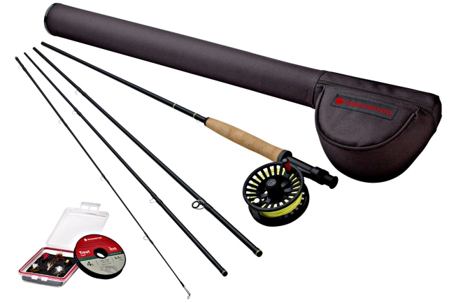 Redington Topo II Combo Fly Rod Outfit Highlights