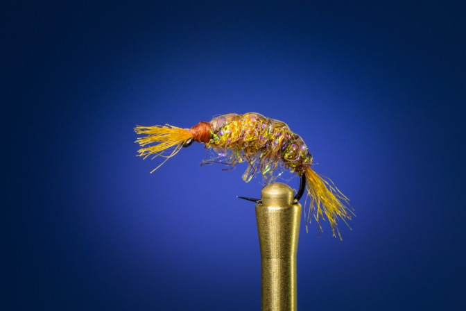 Learn how to tie the UV Scud fly with video instructions