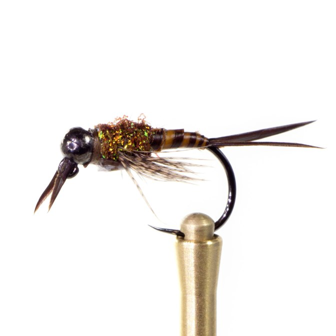 Learn to tie the Jigged Biot Stone - Fly Tying Video