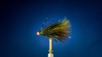 How To Tie The Peacock's Eye Ice Dub Thin Mint: Fly Tying Video