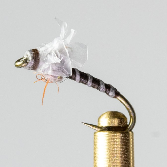 Learn how to tie a Medallion Midge fly tying video instructions