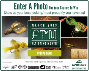 Show us your best looking fly for our Fly Tying Month photo contest