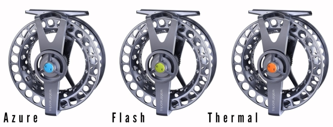 Waterworks-Lamson Force SL Series II Fly Reels | Azure + Flash + Thermal