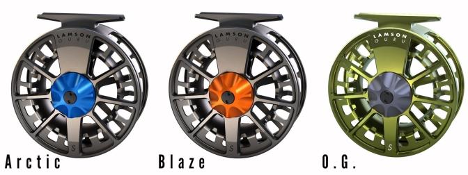 Waterworks-Lamson Guru S Fly Reels | Arctic + Blaze + O.G.
